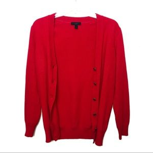 J. Crew | Cashmere Wool Christmas Cardigan Sweater